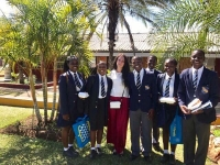 Delegates from Russian universities - in Zimbabwe, 2017